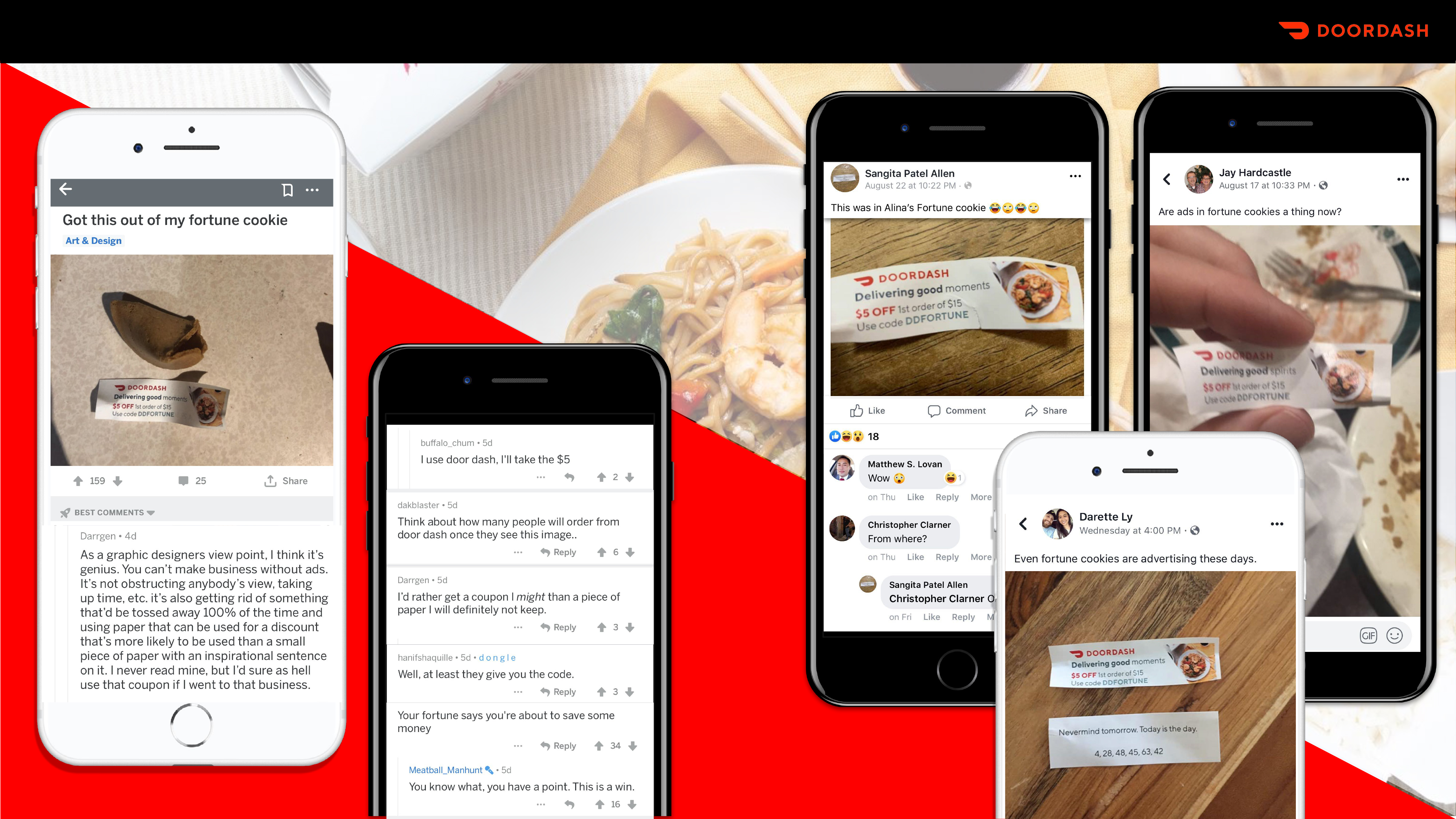 DoorDash Creates a Buzz with Fortune Cookies